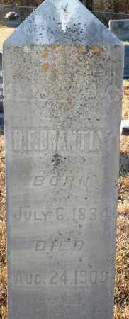 BRANTLY, B. F. - Grant County, Arkansas | B. F. BRANTLY - Arkansas Gravestone Photos