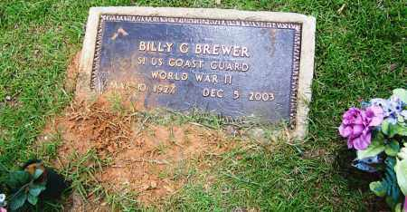 BREWER (VETERAN WWII), BILLY G - Grant County, Arkansas | BILLY G BREWER (VETERAN WWII) - Arkansas Gravestone Photos