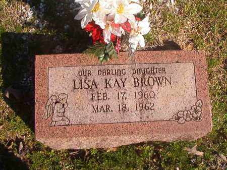 BROWN, LISA KAY - Grant County, Arkansas | LISA KAY BROWN - Arkansas Gravestone Photos