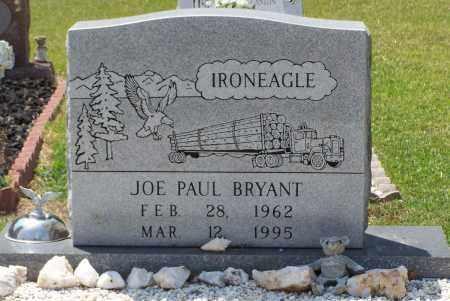 BRYANT, JOE PAUL - Grant County, Arkansas   JOE PAUL BRYANT - Arkansas Gravestone Photos