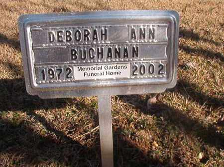 BUCHANAN, DEBORAH ANN - Grant County, Arkansas | DEBORAH ANN BUCHANAN - Arkansas Gravestone Photos