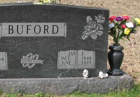 BUFORD, JANE E - Grant County, Arkansas | JANE E BUFORD - Arkansas Gravestone Photos