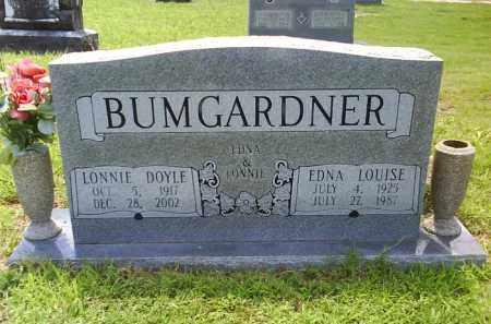 BUMGARDNER, LONNIE DOYLE - Grant County, Arkansas | LONNIE DOYLE BUMGARDNER - Arkansas Gravestone Photos