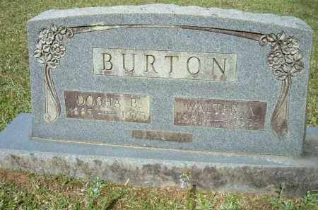 BURTON, DOSHA BELLE - Grant County, Arkansas | DOSHA BELLE BURTON - Arkansas Gravestone Photos