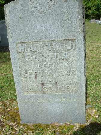 BURTON, MARTHA JANE - Grant County, Arkansas | MARTHA JANE BURTON - Arkansas Gravestone Photos