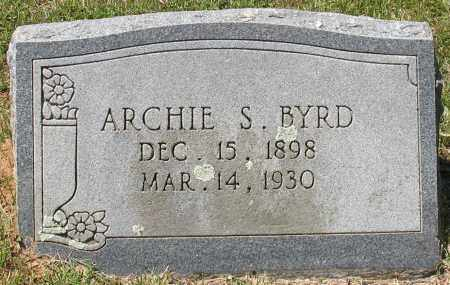 BYRD, ARCHIE SAMPSON - Grant County, Arkansas   ARCHIE SAMPSON BYRD - Arkansas Gravestone Photos
