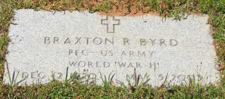 BYRD (VETERAN WWII), BRAXTON R - Grant County, Arkansas | BRAXTON R BYRD (VETERAN WWII) - Arkansas Gravestone Photos