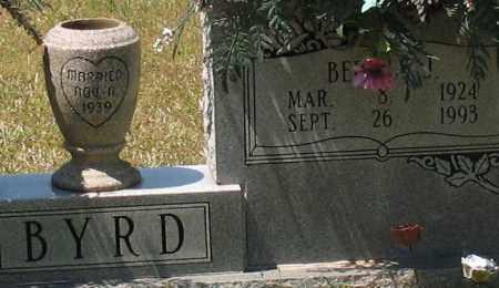 BYRD, BERTHA JANE (CLOSEUP) - Grant County, Arkansas | BERTHA JANE (CLOSEUP) BYRD - Arkansas Gravestone Photos