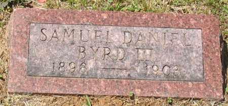 BYRD, III, SAMUEL DANIEL - Grant County, Arkansas | SAMUEL DANIEL BYRD, III - Arkansas Gravestone Photos