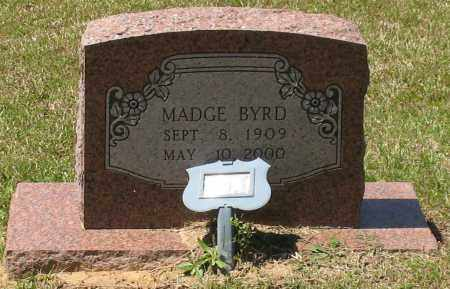 BYRD, MADGE - Grant County, Arkansas | MADGE BYRD - Arkansas Gravestone Photos