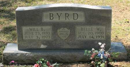 BYRD, WILL B. - Grant County, Arkansas | WILL B. BYRD - Arkansas Gravestone Photos