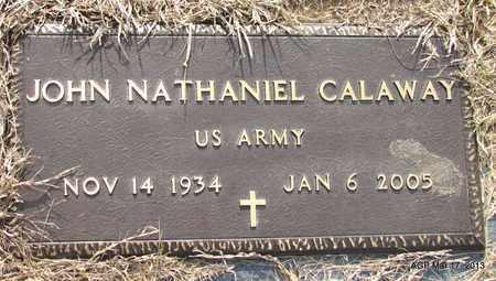 CALAWAY (VETERAN), JOHN NATHANIEL - Grant County, Arkansas | JOHN NATHANIEL CALAWAY (VETERAN) - Arkansas Gravestone Photos