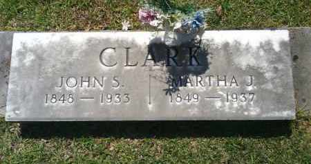 CLARK, MARTHA J. - Grant County, Arkansas | MARTHA J. CLARK - Arkansas Gravestone Photos