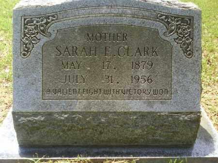 CLARK, SARAH E. - Grant County, Arkansas | SARAH E. CLARK - Arkansas Gravestone Photos
