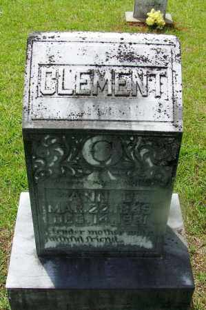 CLEMENT, ANN - Grant County, Arkansas   ANN CLEMENT - Arkansas Gravestone Photos