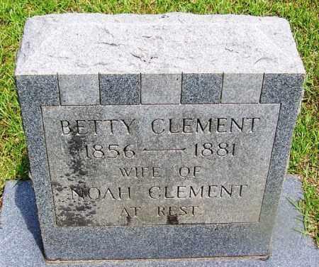 CLEMENT, BETTY - Grant County, Arkansas   BETTY CLEMENT - Arkansas Gravestone Photos