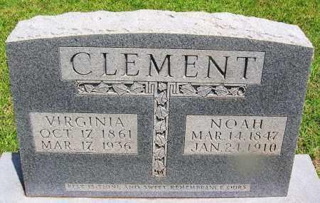 CLEMENT, NOAH - Grant County, Arkansas   NOAH CLEMENT - Arkansas Gravestone Photos