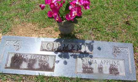 CLEMENT, WILMA - Grant County, Arkansas | WILMA CLEMENT - Arkansas Gravestone Photos