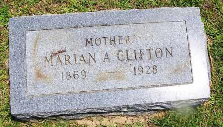 CLIFTON, MARIAN A. - Grant County, Arkansas   MARIAN A. CLIFTON - Arkansas Gravestone Photos