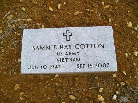 COTTON  (VETERAN VIET), SAMMIE RAY - Grant County, Arkansas | SAMMIE RAY COTTON  (VETERAN VIET) - Arkansas Gravestone Photos