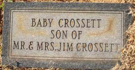 CROSSETT, BABY - Grant County, Arkansas   BABY CROSSETT - Arkansas Gravestone Photos