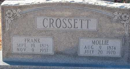 CROSSETT, FRANK - Grant County, Arkansas | FRANK CROSSETT - Arkansas Gravestone Photos