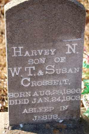 CROSSETT, HARVEY N. - Grant County, Arkansas | HARVEY N. CROSSETT - Arkansas Gravestone Photos