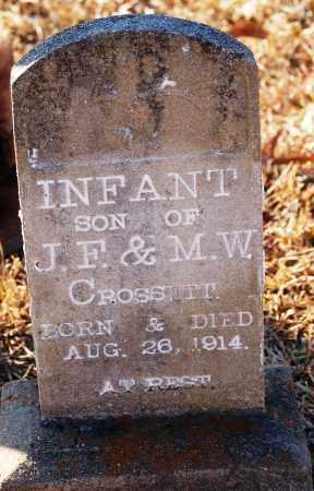 CROSSETT, INFANT SON - Grant County, Arkansas | INFANT SON CROSSETT - Arkansas Gravestone Photos