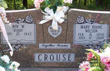 CROUSE, MARY DIANE - Grant County, Arkansas   MARY DIANE CROUSE - Arkansas Gravestone Photos