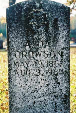 SMITH CROWSON, A. IDA - Grant County, Arkansas | A. IDA SMITH CROWSON - Arkansas Gravestone Photos