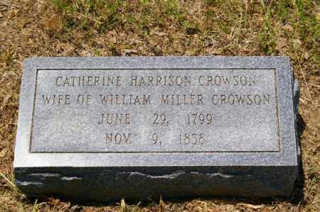 HARRISON CROWSON, CATHERINE - Grant County, Arkansas | CATHERINE HARRISON CROWSON - Arkansas Gravestone Photos