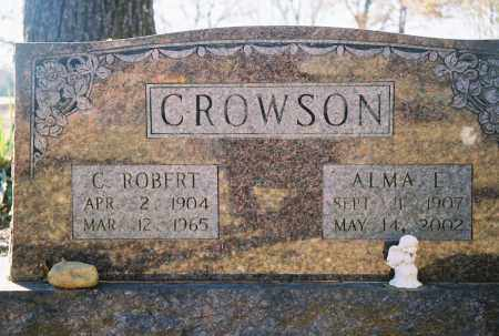 SMITH CROWSON, ALMA L. - Grant County, Arkansas | ALMA L. SMITH CROWSON - Arkansas Gravestone Photos