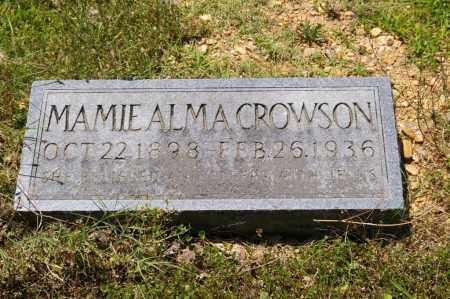 CROWSON, MAMIE - Grant County, Arkansas | MAMIE CROWSON - Arkansas Gravestone Photos
