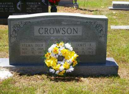DEER CROWSON, VELMA - Grant County, Arkansas | VELMA DEER CROWSON - Arkansas Gravestone Photos