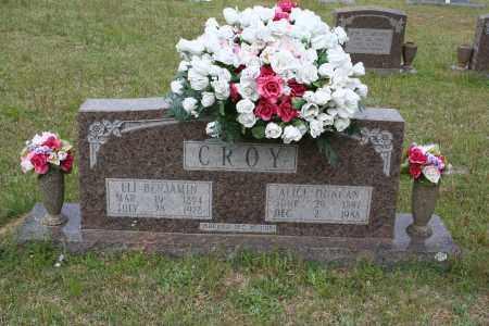 CROY, ELI BENJAMIN - Grant County, Arkansas | ELI BENJAMIN CROY - Arkansas Gravestone Photos