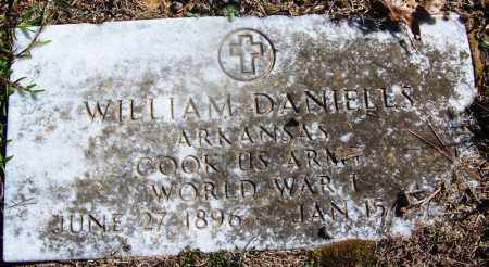 DANIELS (VETERAN WWI), WILLIAM - Grant County, Arkansas   WILLIAM DANIELS (VETERAN WWI) - Arkansas Gravestone Photos