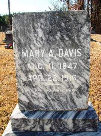 DAVIS, MARY A - Grant County, Arkansas | MARY A DAVIS - Arkansas Gravestone Photos