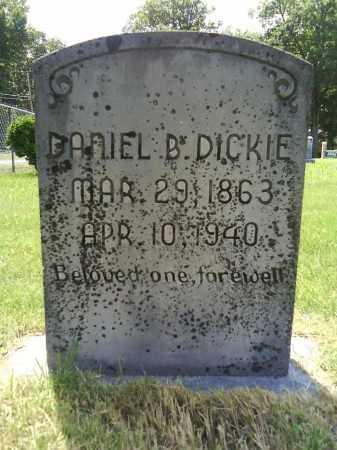 DICKIE, DANIEL B. - Grant County, Arkansas   DANIEL B. DICKIE - Arkansas Gravestone Photos