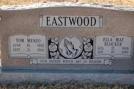 BLOCKER EASTWOOD, ELLA MAE - Grant County, Arkansas   ELLA MAE BLOCKER EASTWOOD - Arkansas Gravestone Photos
