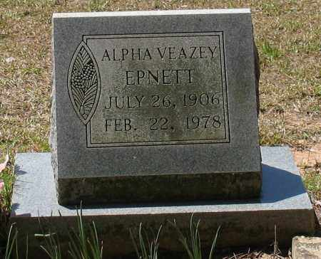 EPNETT, ALPHA - Grant County, Arkansas | ALPHA EPNETT - Arkansas Gravestone Photos