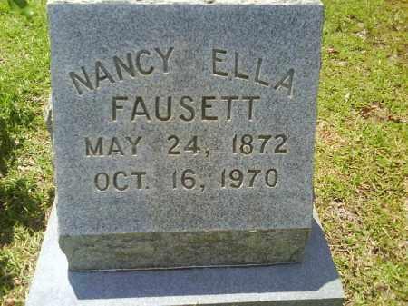 FAUSETT, NANCY ELLA - Grant County, Arkansas | NANCY ELLA FAUSETT - Arkansas Gravestone Photos
