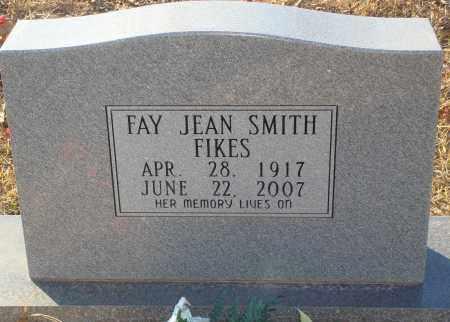 SMITH FIKES, FAY JEAN - Grant County, Arkansas | FAY JEAN SMITH FIKES - Arkansas Gravestone Photos