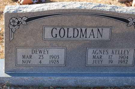 KELLEY GOLDMAN, AGNES - Grant County, Arkansas | AGNES KELLEY GOLDMAN - Arkansas Gravestone Photos