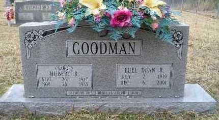 GOODMAN (VETERAN WWII), HUBERT R. - Grant County, Arkansas | HUBERT R. GOODMAN (VETERAN WWII) - Arkansas Gravestone Photos