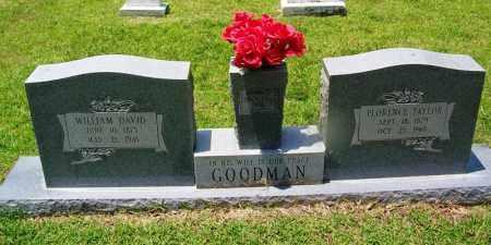 TAYLOR GOODMAN, FLORENCE - Grant County, Arkansas | FLORENCE TAYLOR GOODMAN - Arkansas Gravestone Photos