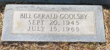 GOOLSBY, BILL GERALD - Grant County, Arkansas   BILL GERALD GOOLSBY - Arkansas Gravestone Photos