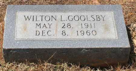 GOOLSBY, WILTON L - Grant County, Arkansas | WILTON L GOOLSBY - Arkansas Gravestone Photos
