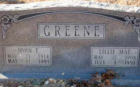 GREENE, LILLIE MAE - Grant County, Arkansas | LILLIE MAE GREENE - Arkansas Gravestone Photos
