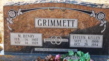 GRIMMETT, EVELYN - Grant County, Arkansas | EVELYN GRIMMETT - Arkansas Gravestone Photos
