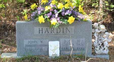 HARDIN, JOSIE M - Grant County, Arkansas   JOSIE M HARDIN - Arkansas Gravestone Photos